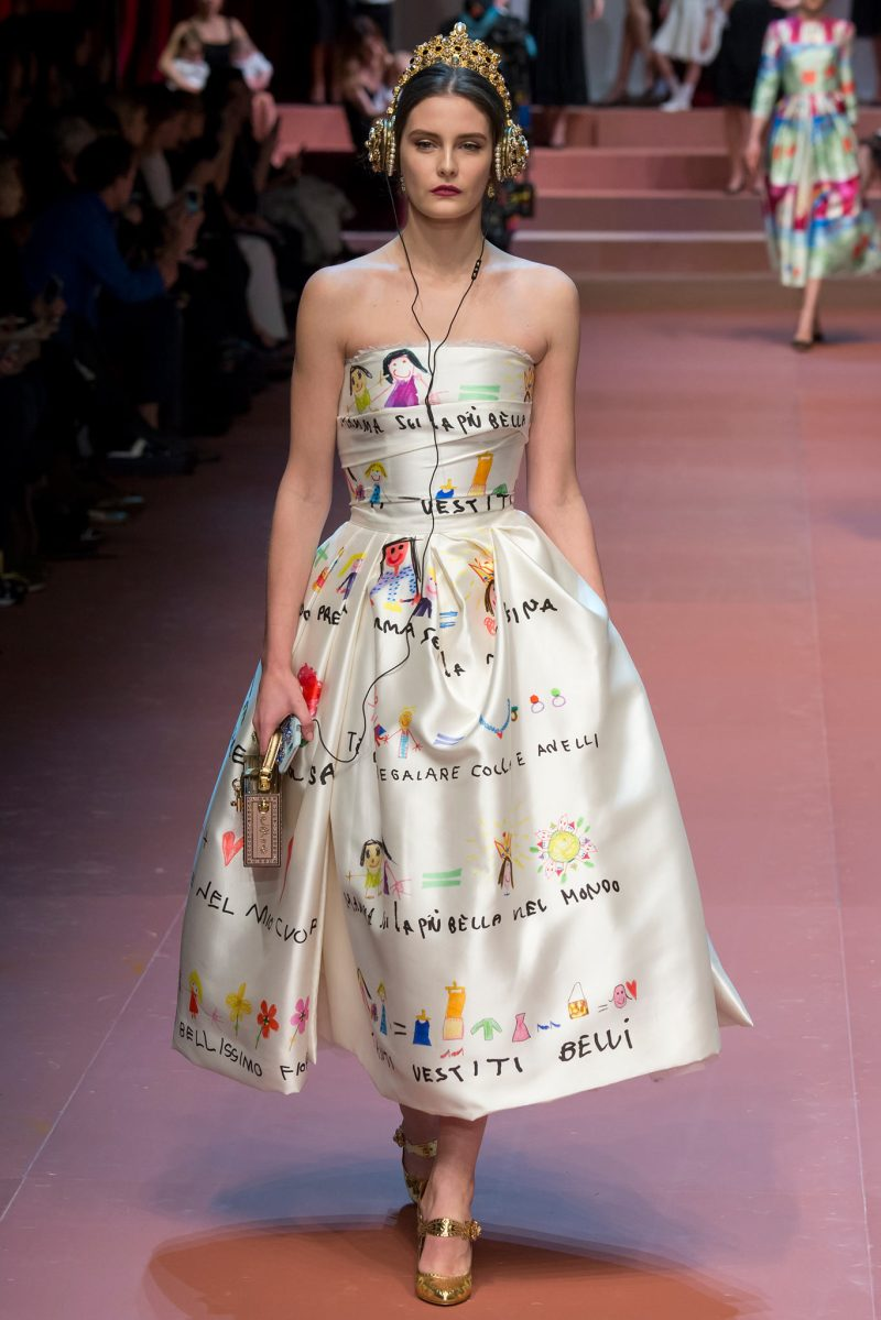 Dolce & Gabbana Ready to Wear FW 2015 MFW (85)