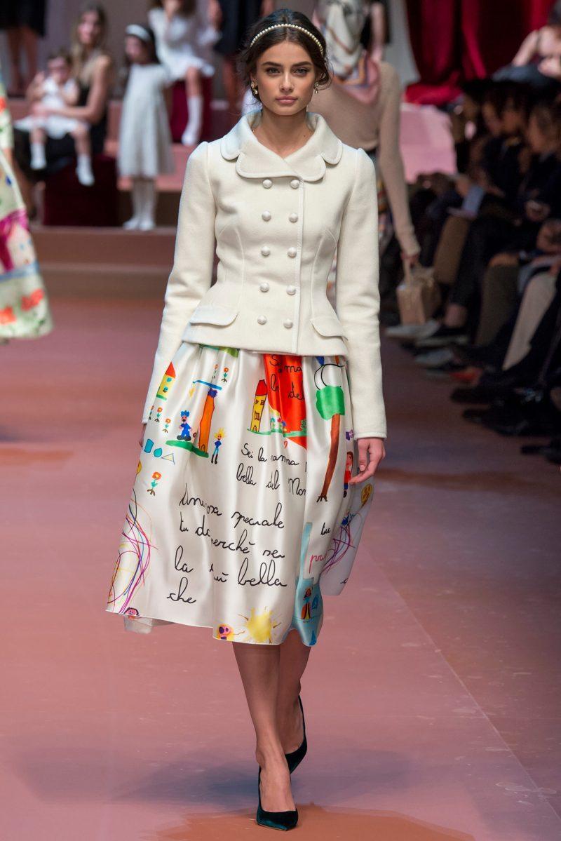 Dolce & Gabbana Ready to Wear FW 2015 MFW (86)