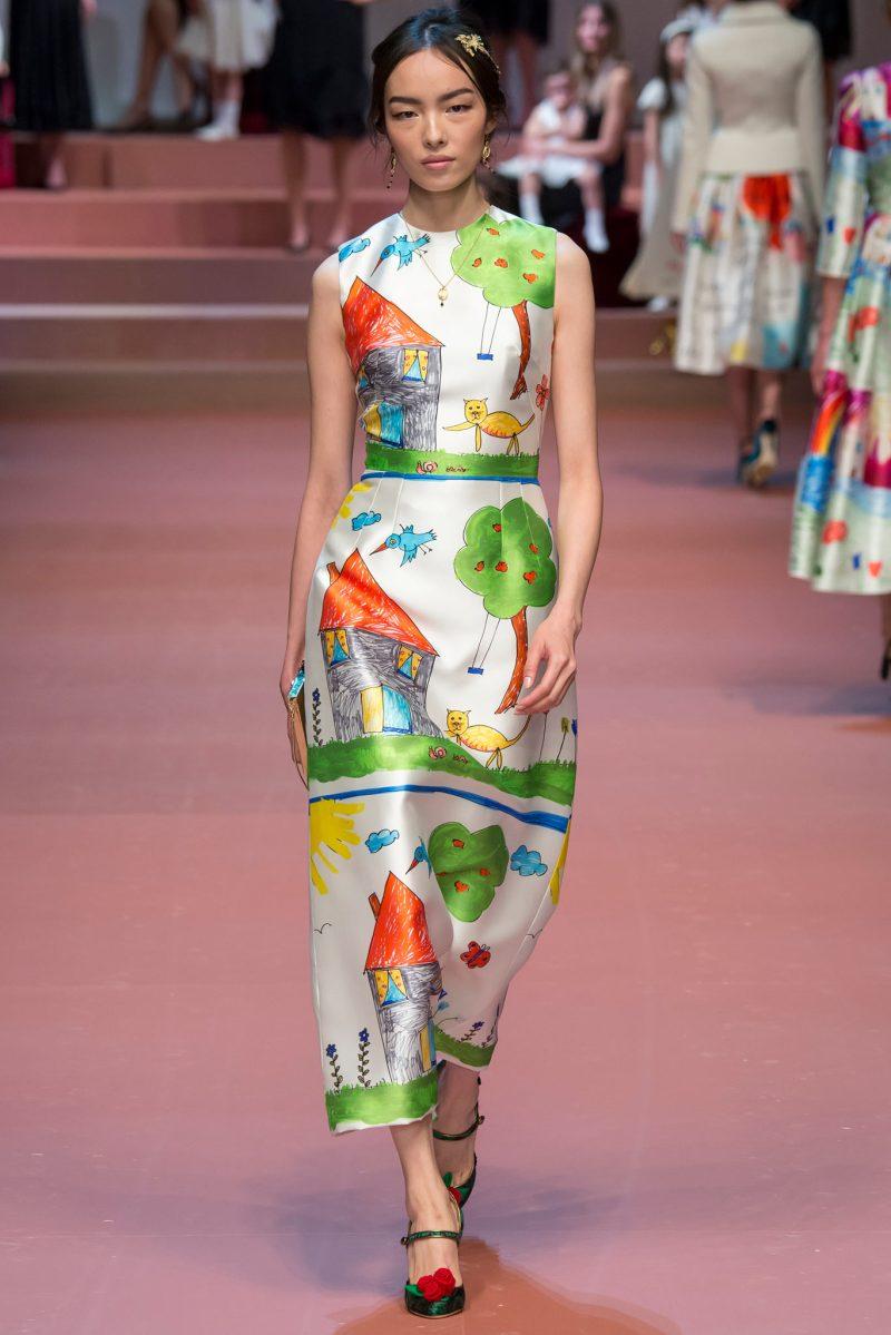 Dolce & Gabbana Ready to Wear FW 2015 MFW (89)
