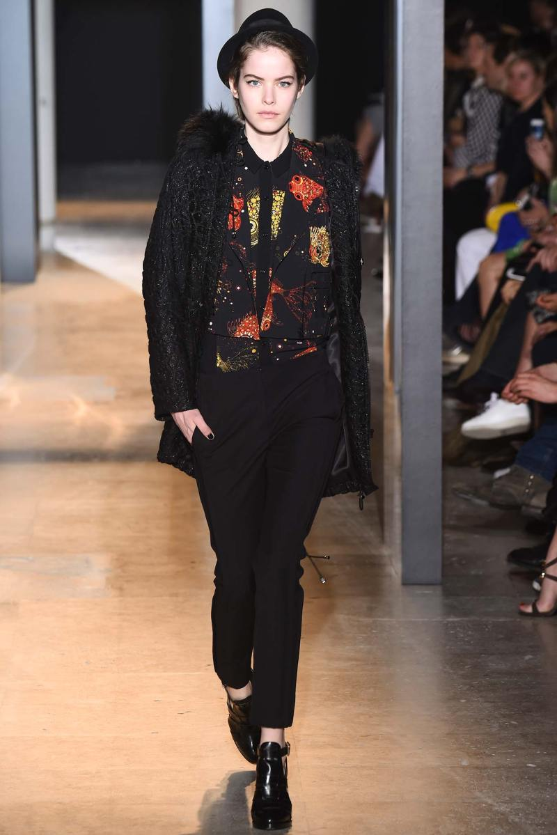 John Galliano Ready to Wear FW 2015 PFW (33)