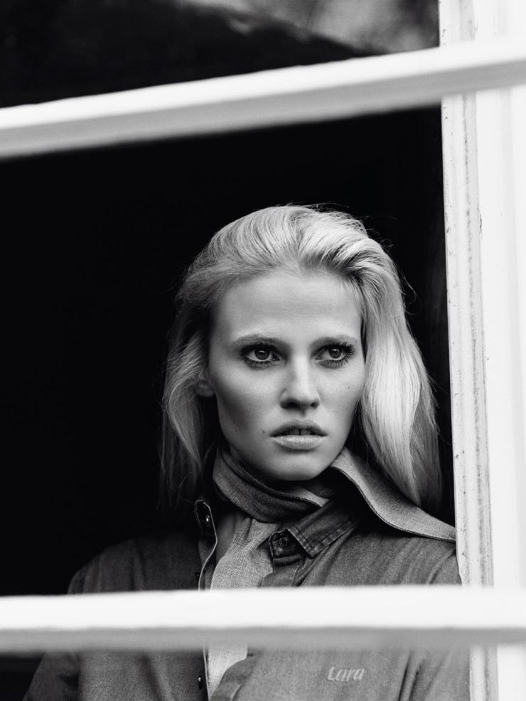 Lara Stone by photographer Alasdair McLellan