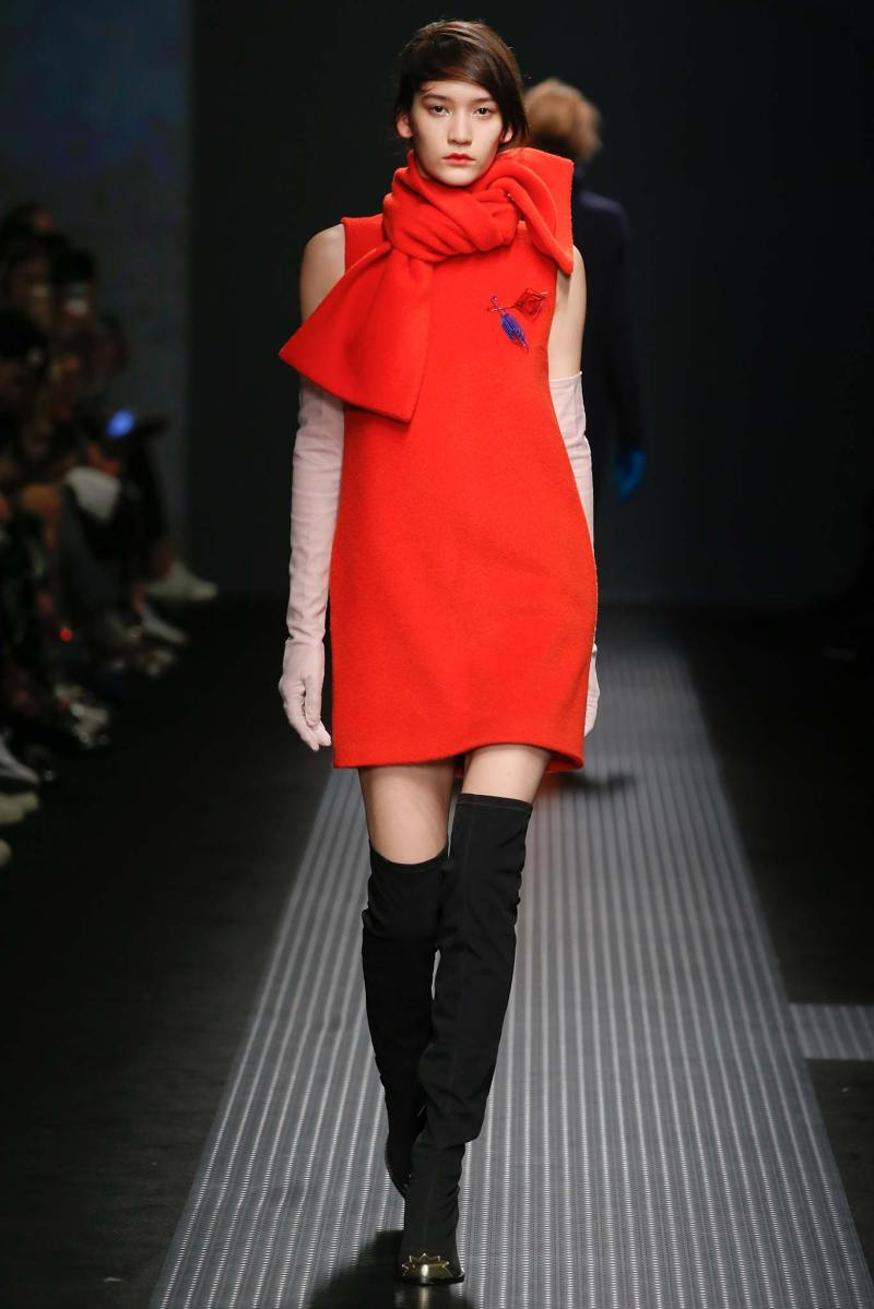 MSGM Ready to Wear FW 2015 MFW (6)