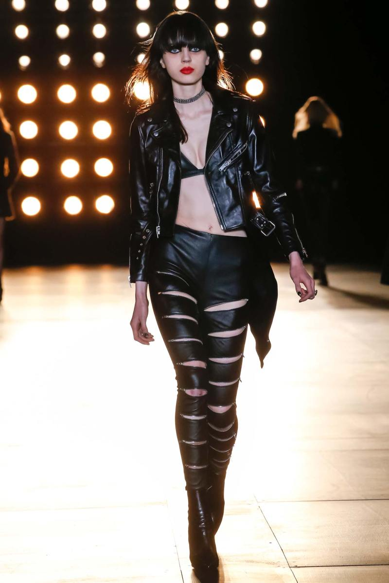 Saint Laurent Ready to Wear FW 2015 PFW (11)