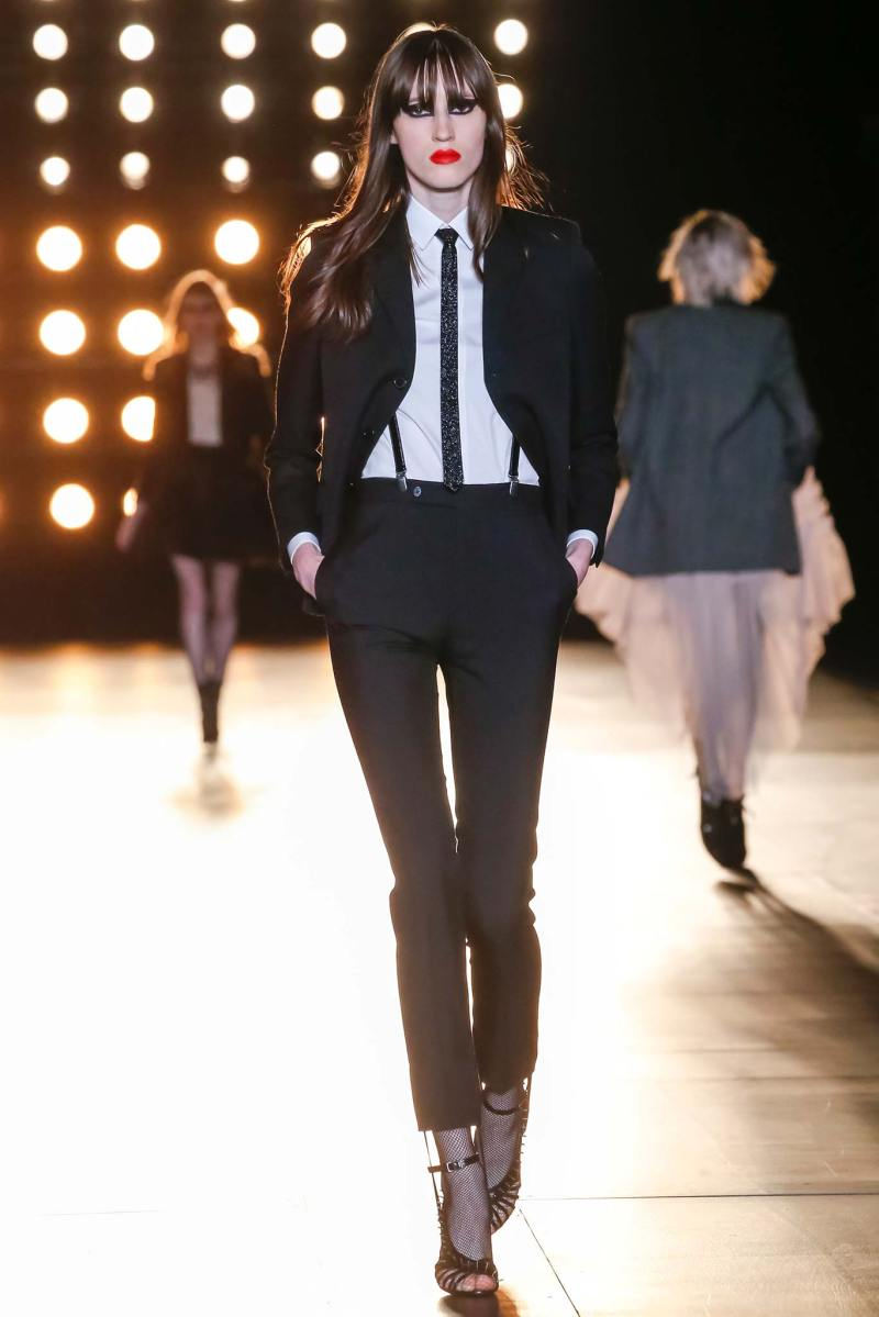 Saint Laurent Ready to Wear FW 2015 PFW (2)