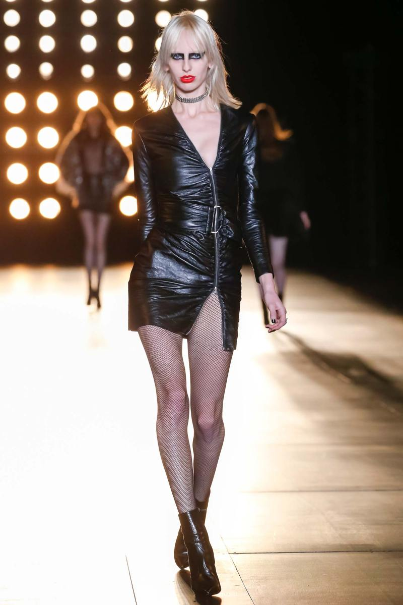 Saint Laurent Ready to Wear FW 2015 PFW (4)