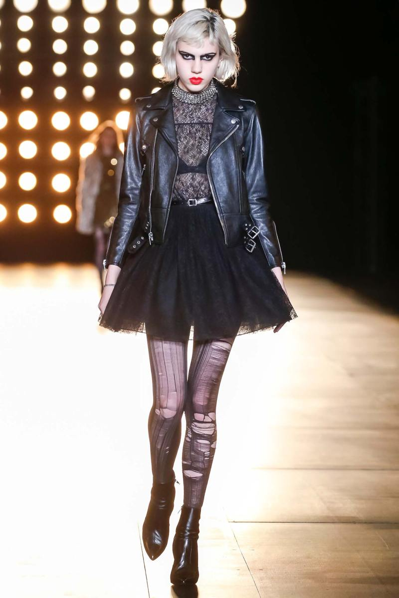 Saint Laurent Ready to Wear FW 2015 PFW (48)