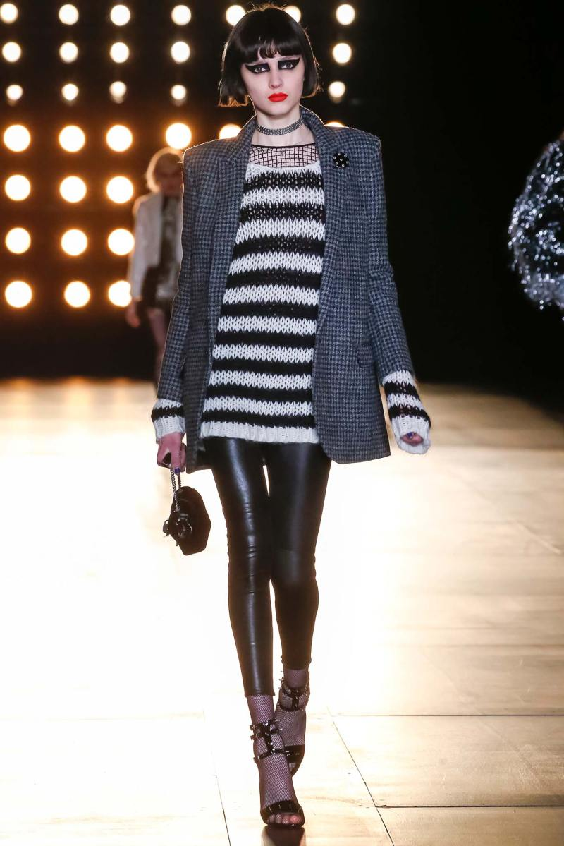Saint Laurent Ready to Wear FW 2015 PFW (6)