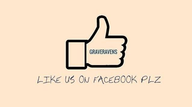 Graveravens like us on facebook