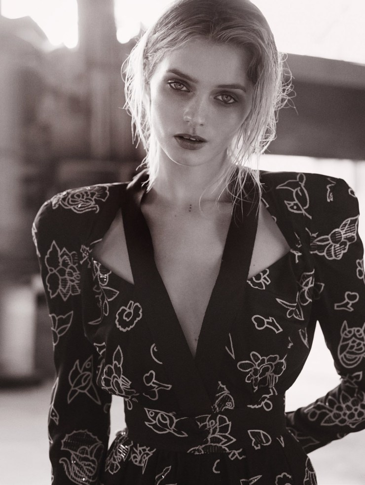 Abbey Lee Kershaw by photographer Will Davidson