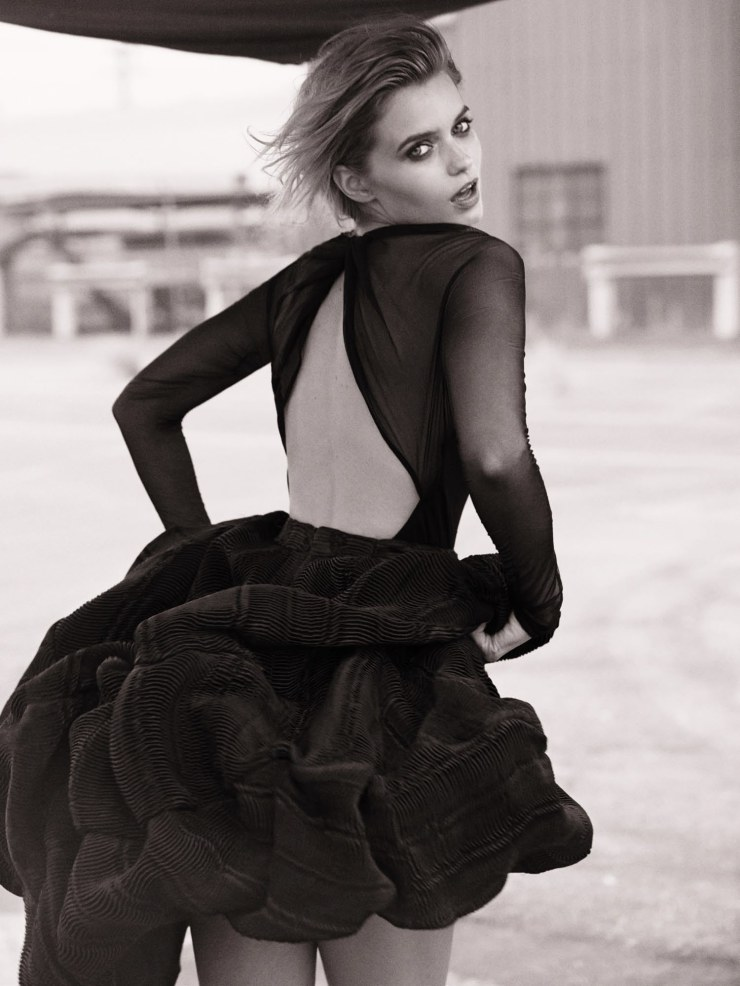 abbey lee kershaw by photographer will davidson graveravens