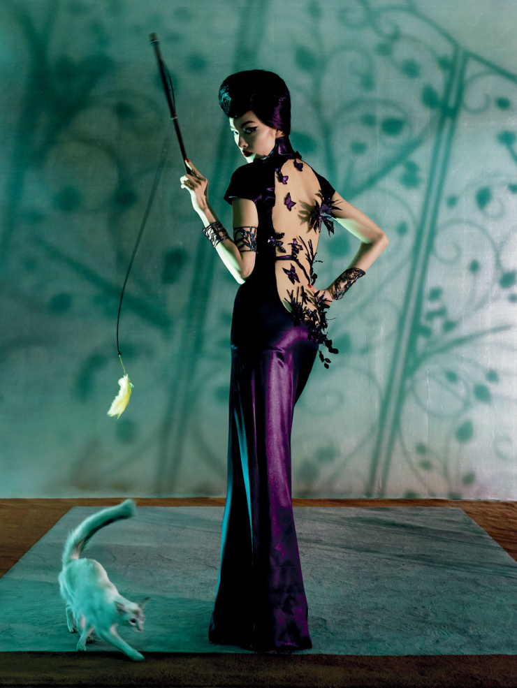 Fei Fei Sun by Steven Meisel (9)