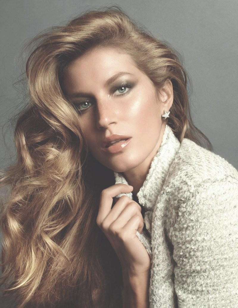Gisele done with runway