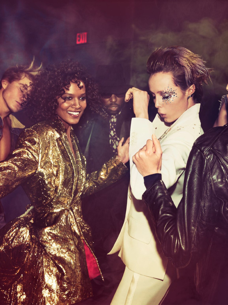 High Fashion Turnt by photographers Inez van Lamsweerde & Vinoodh Matadin (8)
