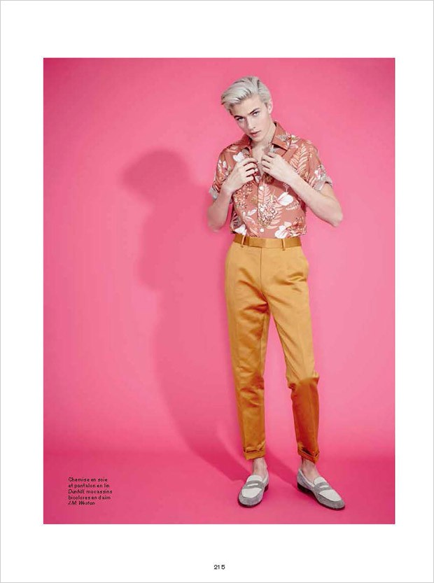 Lucky Blue by Andrew Hail for L'Officiel Hommes (13)