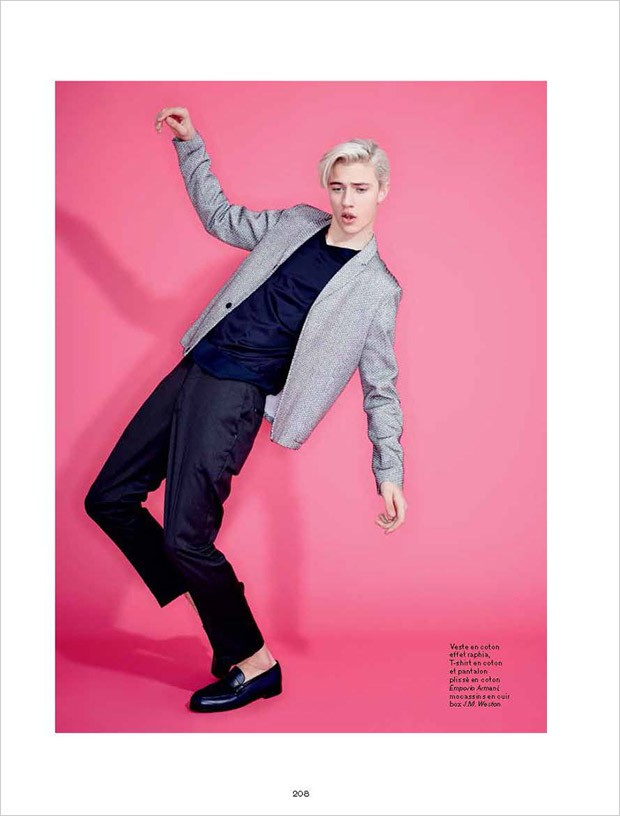 Lucky Blue by Andrew Hail for L'Officiel Hommes (6)