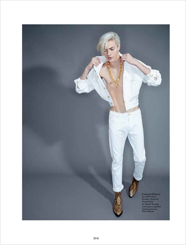 Lucky Blue by Andrew Hail for L'Officiel Hommes (7)