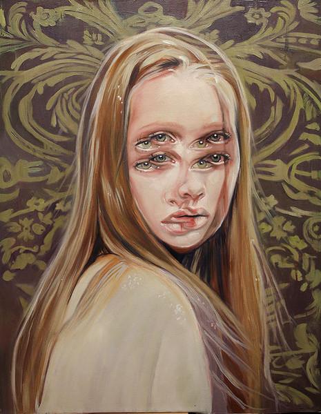 Double Vision Portraits by artist Alex Garant (3)