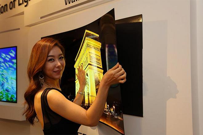 LG Paper tv screen