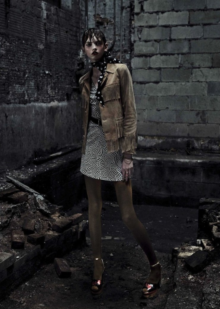 Industrial Glam Punk Photoshoot By Photogarpher Fabien Baron