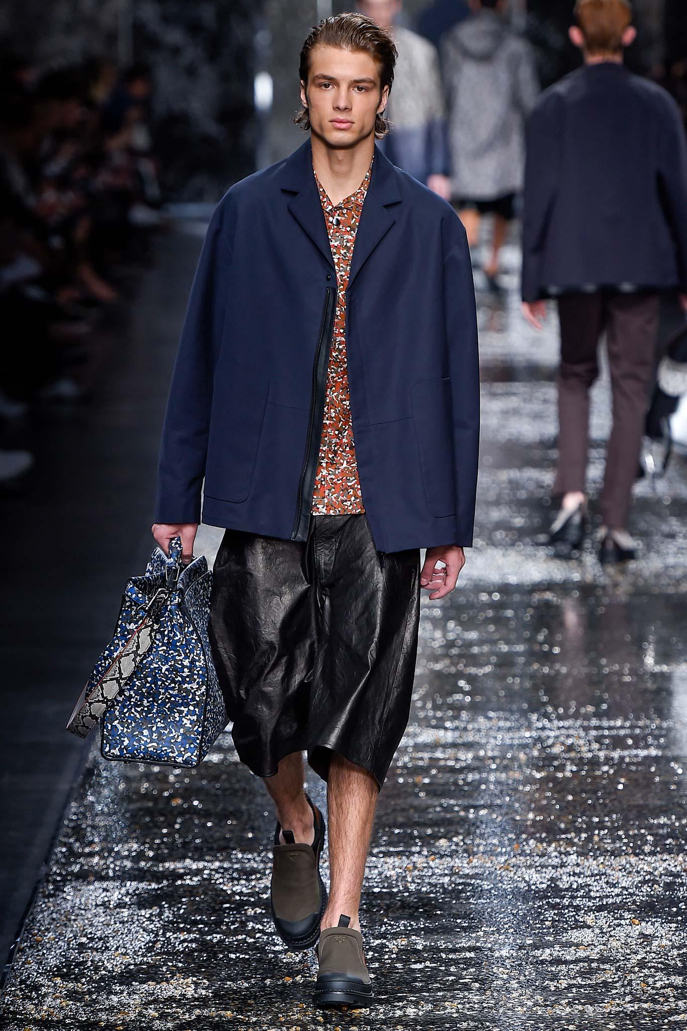 Fendi Menswear SS 2016 Milan