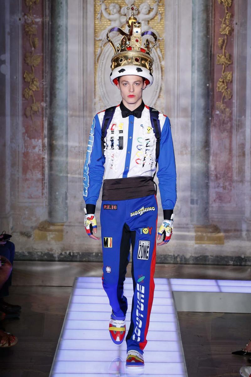 Moschino Menswear SS 2016 (3)
