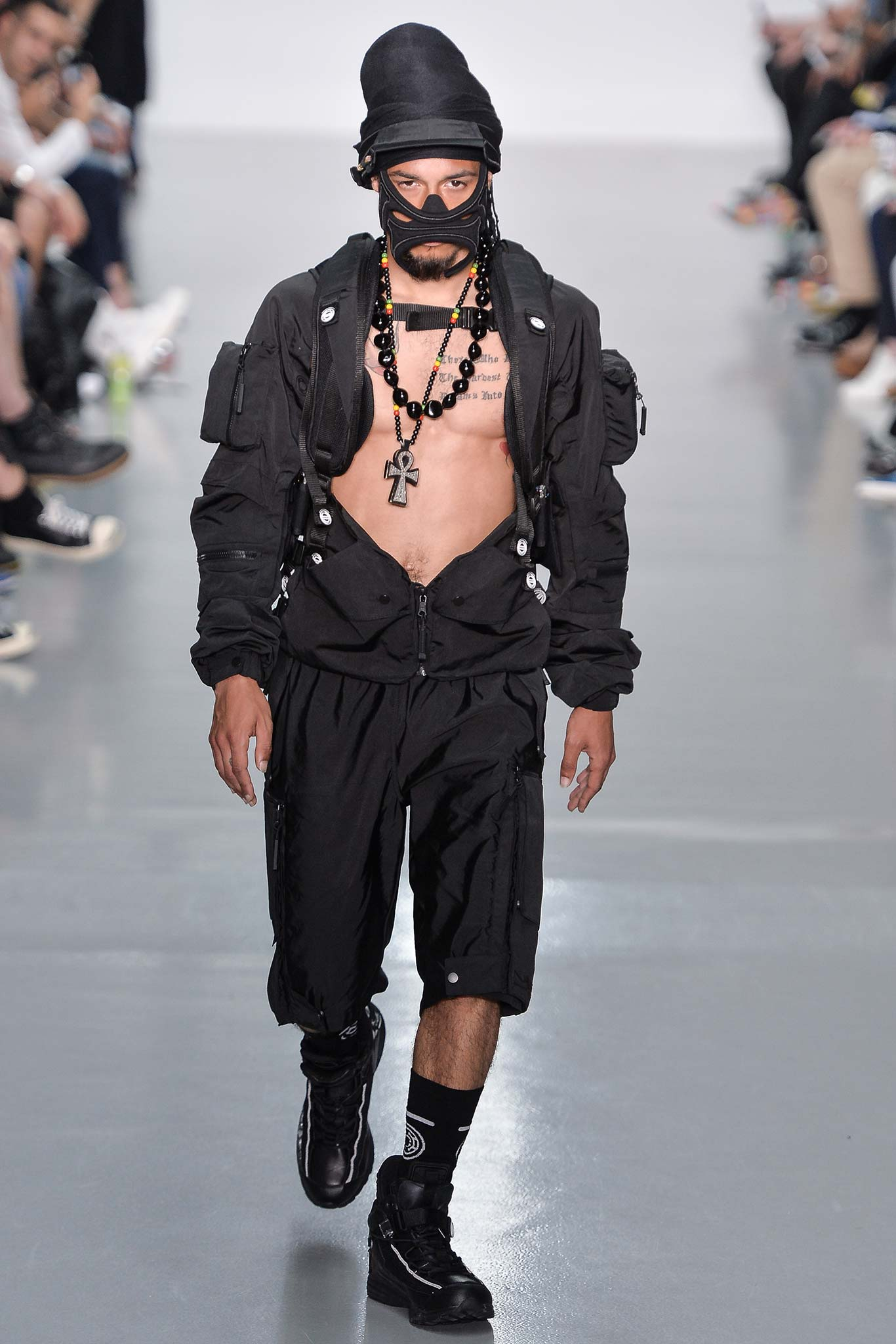 Nasir Mazhar Menswear SS 2016 London