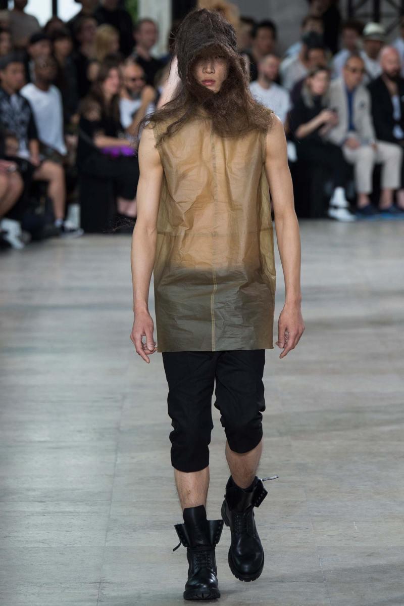 Rick Owens Menswear SS 2016 Paris (15)