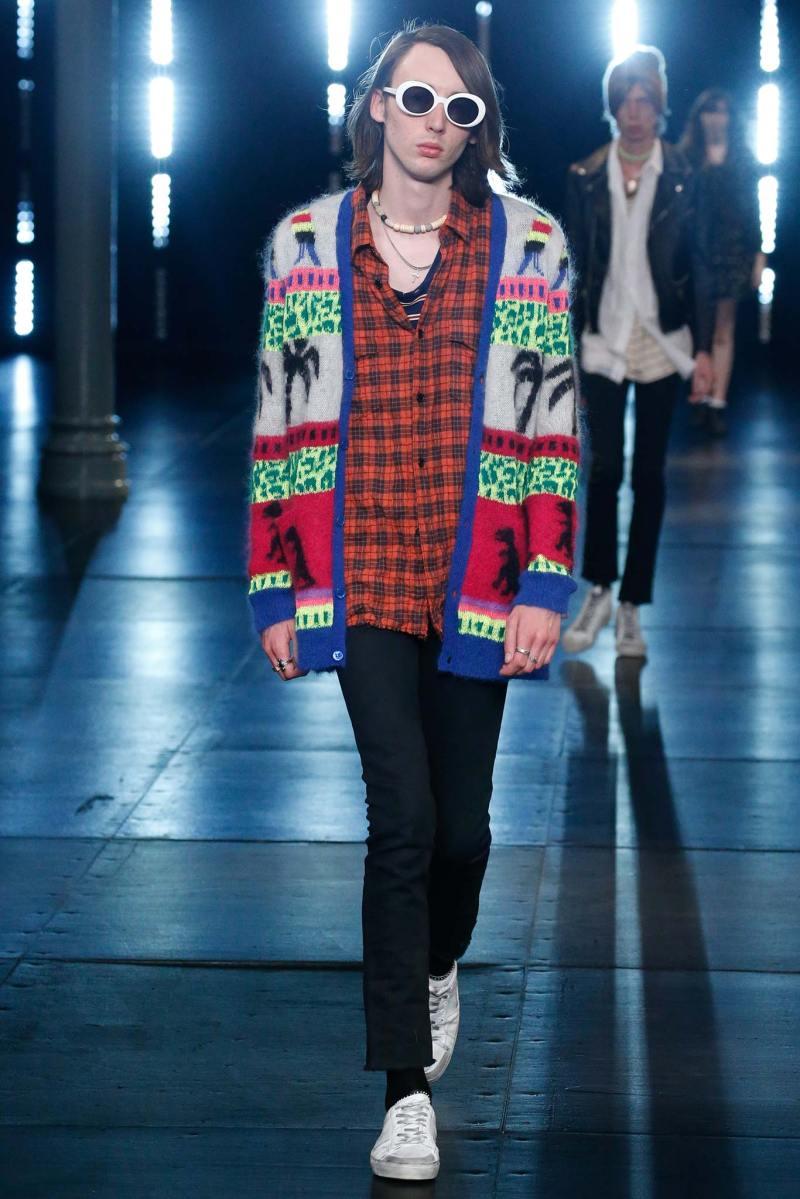 Saint Laurent Menswear SS 2016 Paris (13)