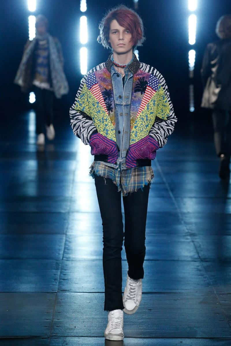 Saint Laurent Menswear SS 2016 Paris (21)
