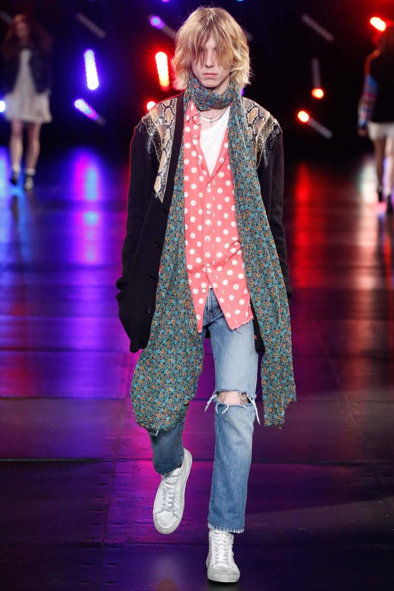 Saint Laurent Menswear SS 2016 Paris (28)