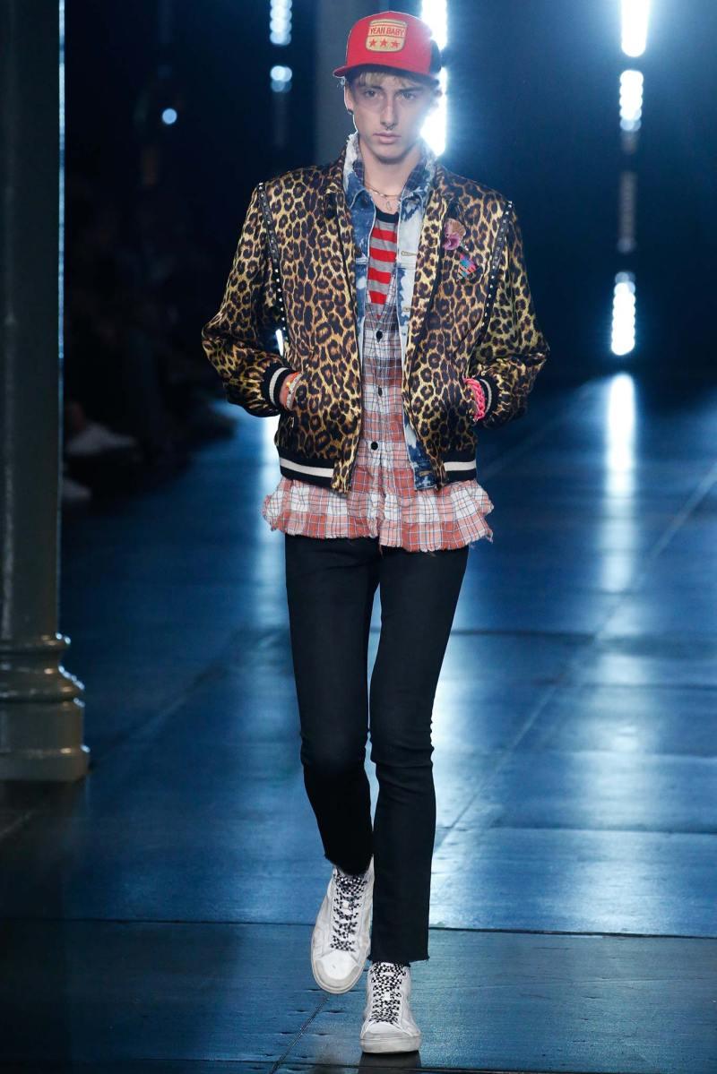 Saint Laurent Menswear SS 2016 Paris (34)