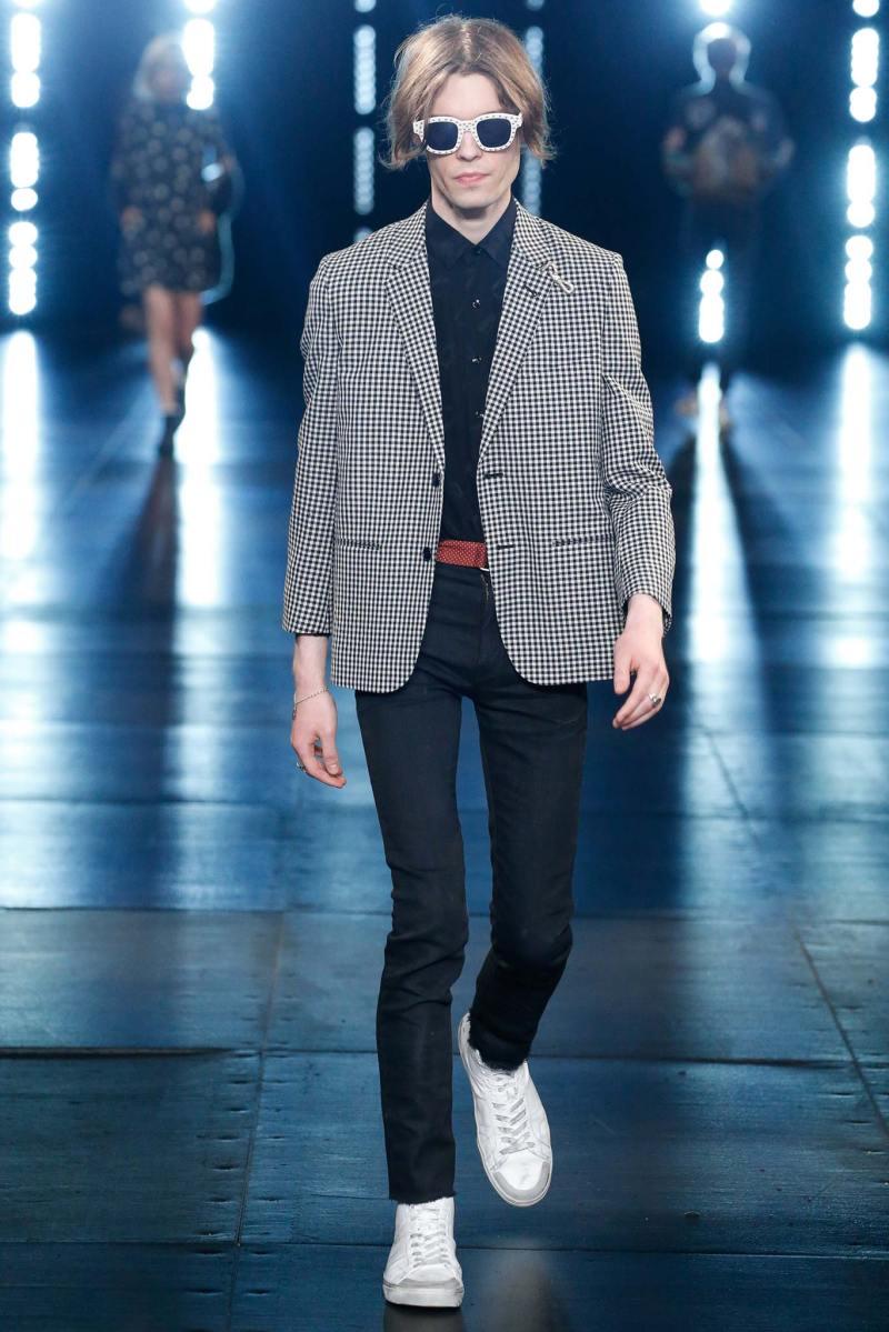 Saint Laurent Menswear SS 2016 Paris (37)