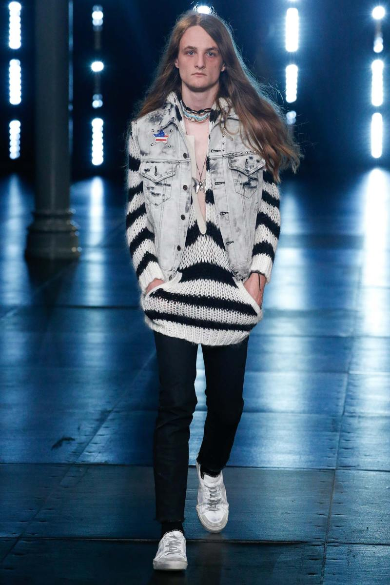 Saint Laurent Menswear SS 2016 Paris (41)