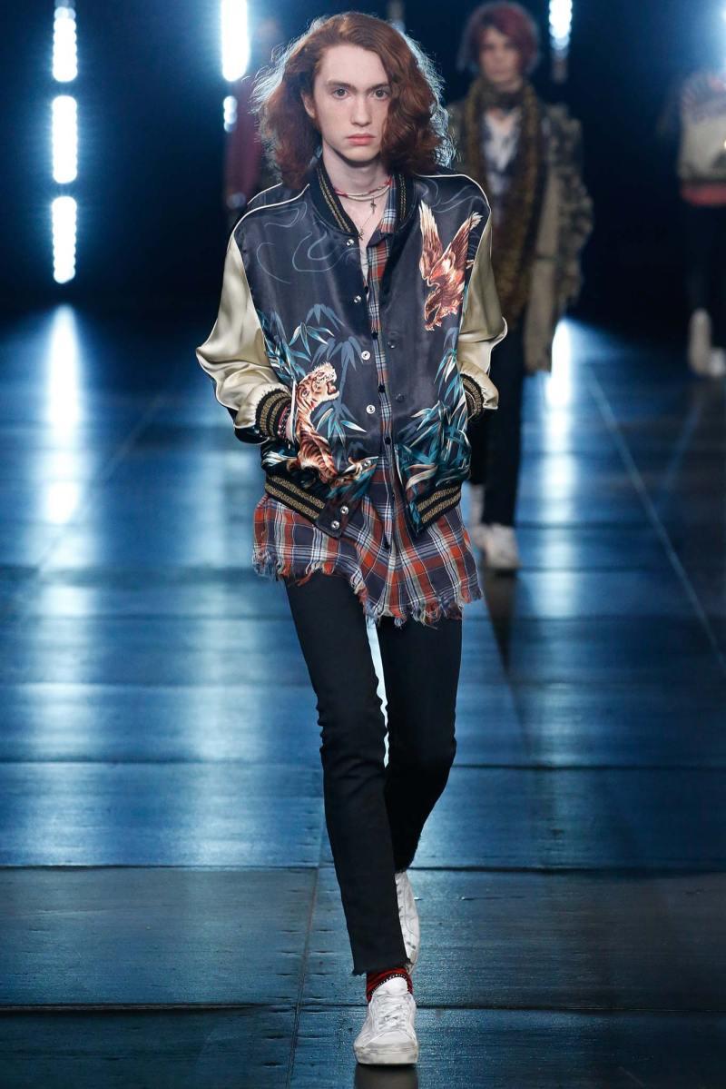 Saint Laurent Menswear SS 2016 Paris (45)