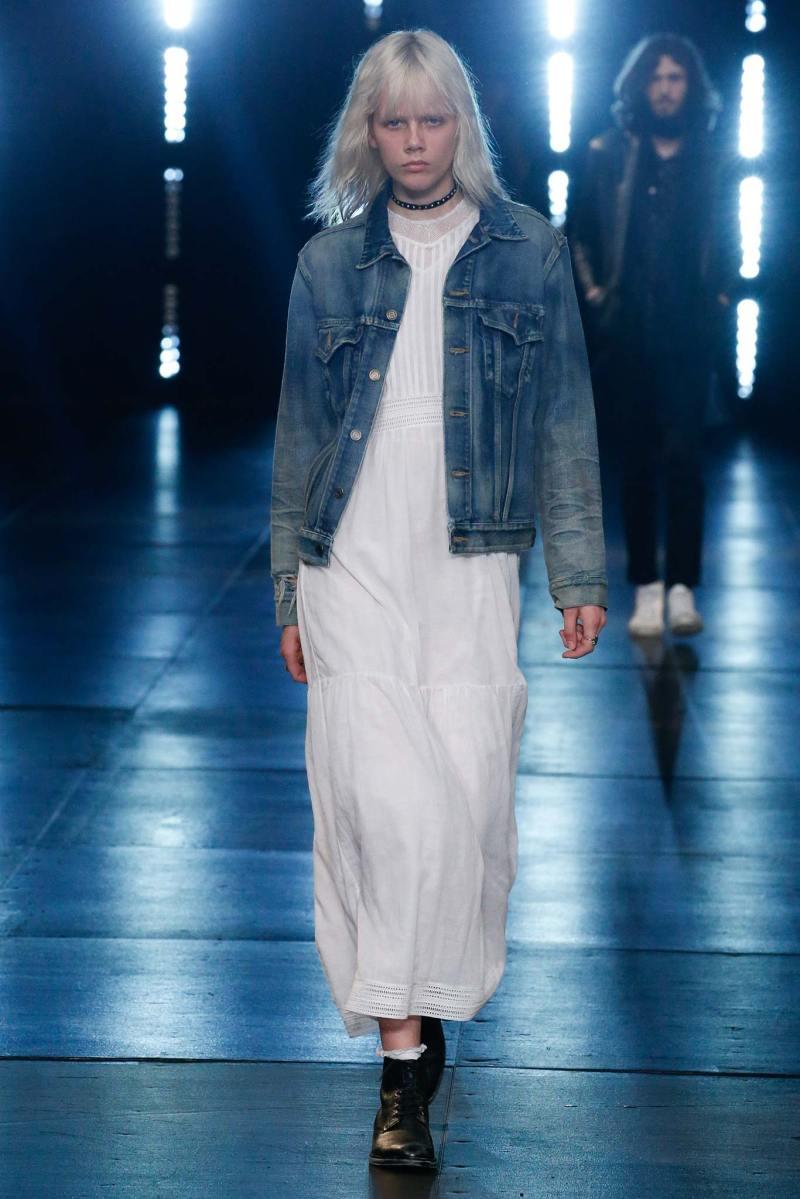 Saint Laurent Menswear SS 2016 Paris (49)