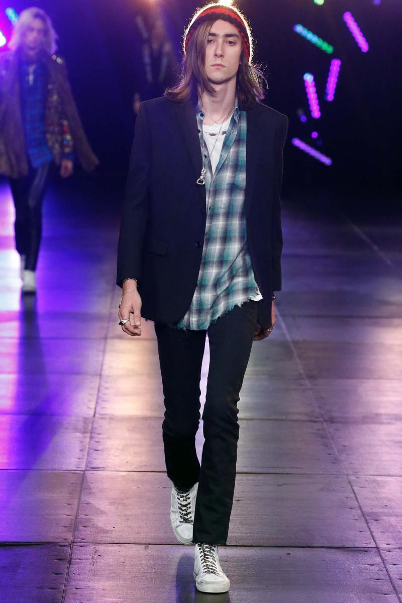 Saint Laurent Menswear SS 2016 Paris (62)