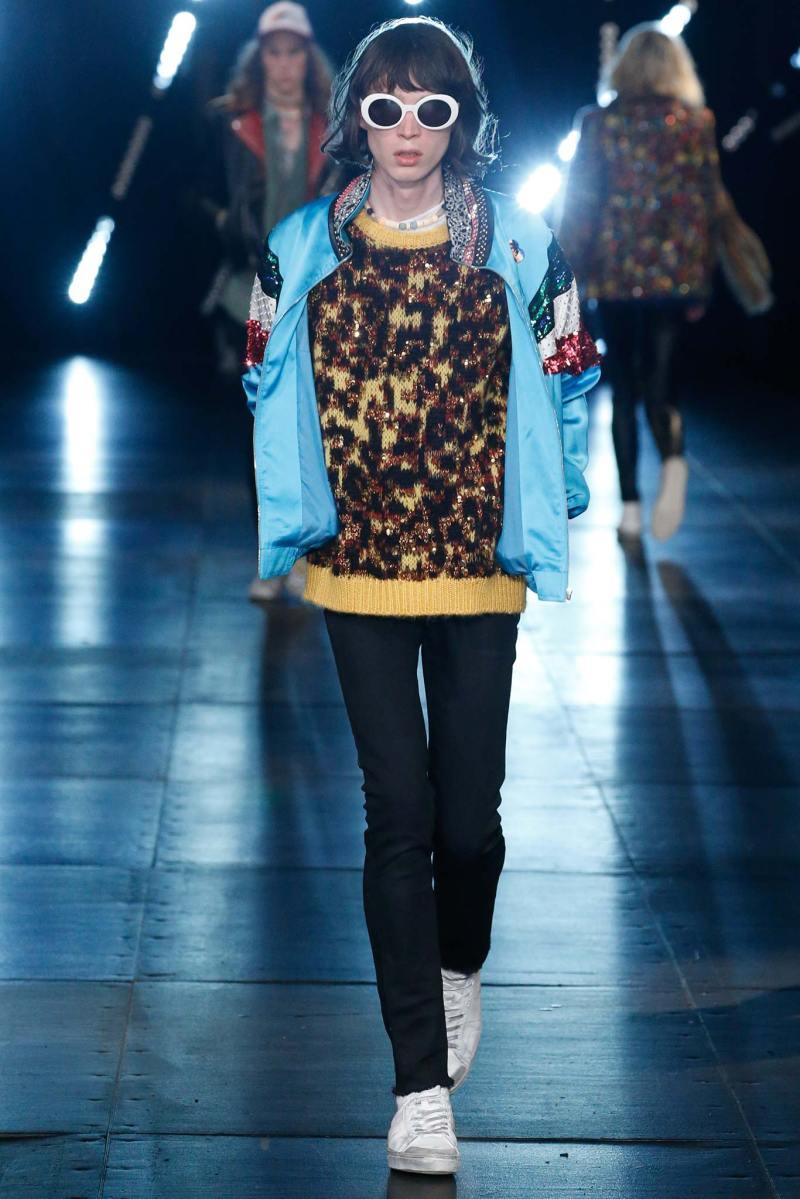 Saint Laurent Menswear SS 2016 Paris (65)