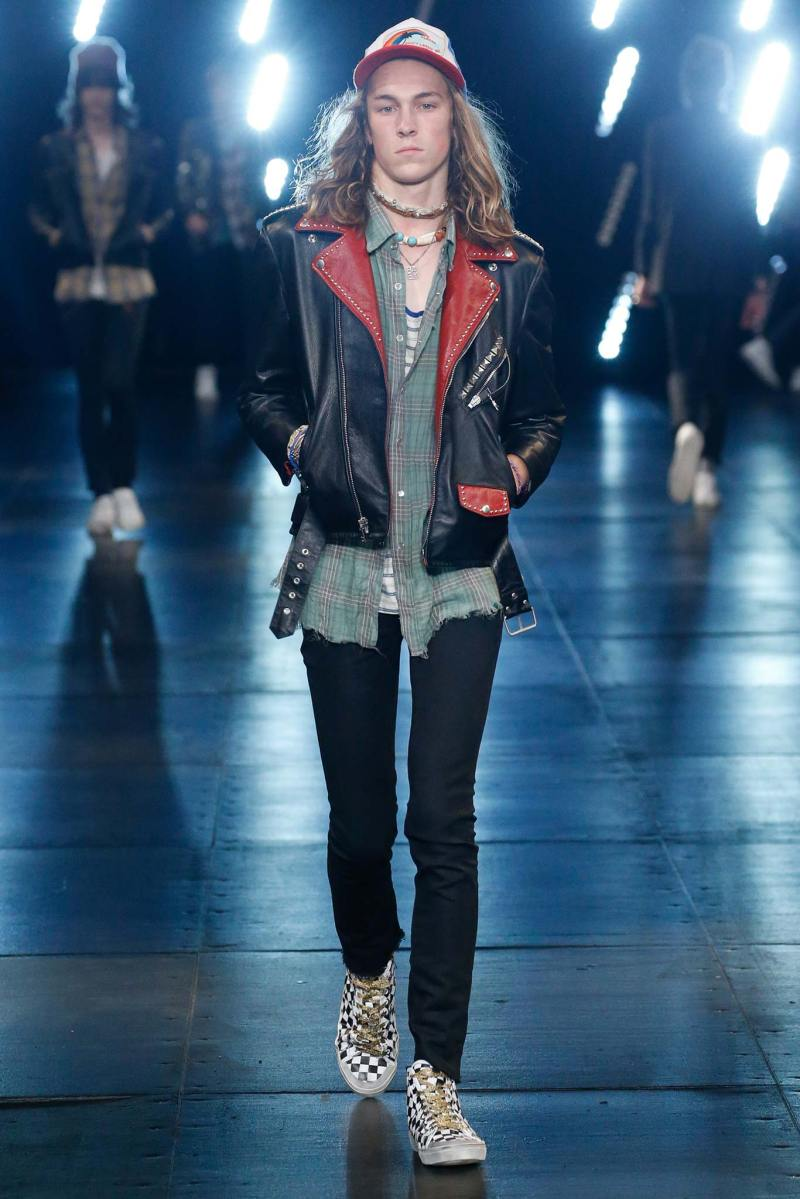 Saint Laurent Menswear SS 2016 Paris (66)