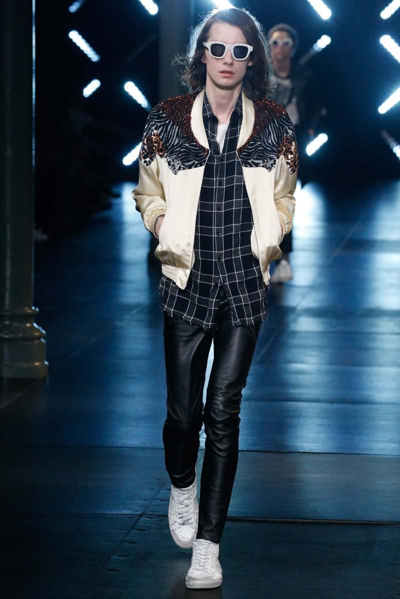Saint Laurent Menswear SS 2016 Paris (69)