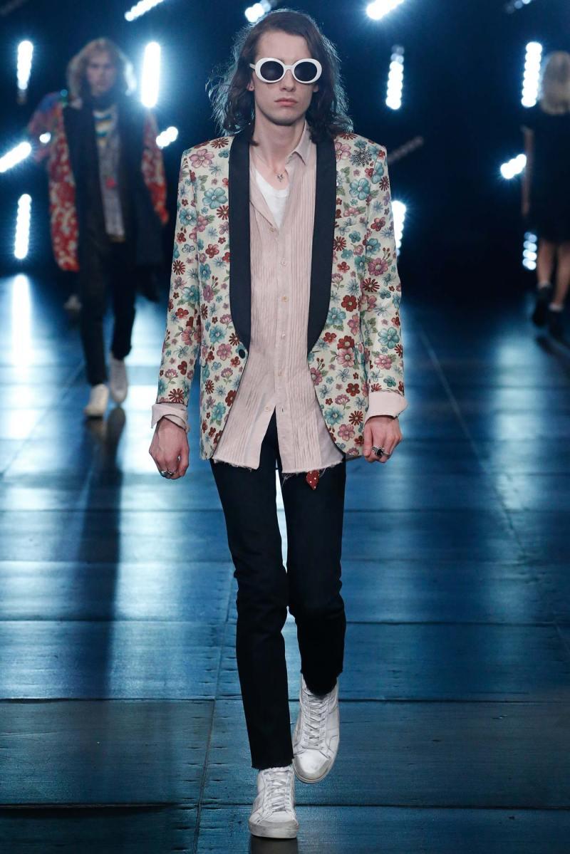 Saint Laurent Menswear SS 2016 Paris (7)