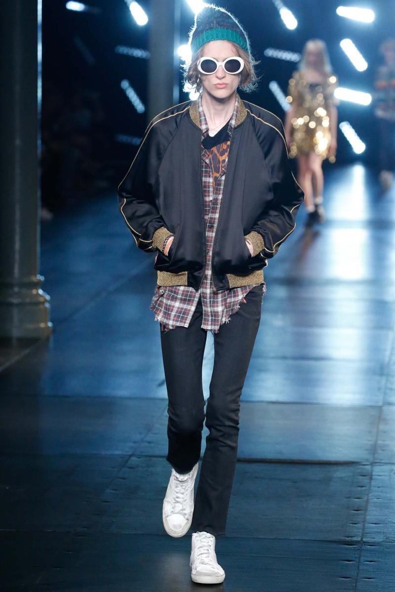 Saint Laurent Menswear SS 2016 Paris (72)