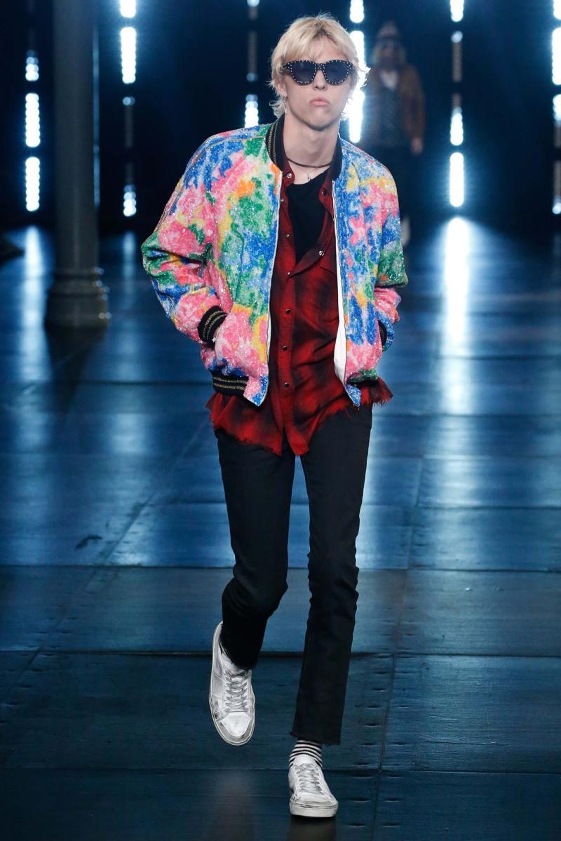 Saint Laurent Menswear SS 2016 Paris (9)