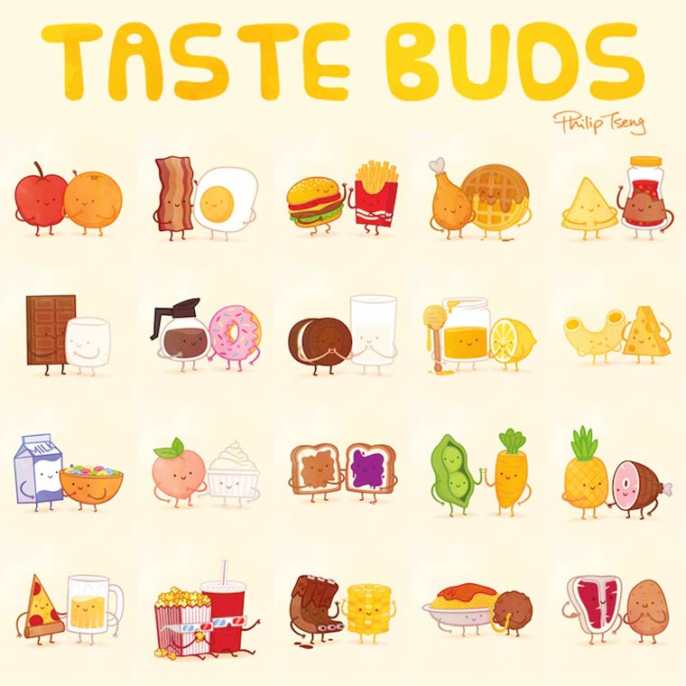 Taste Buds series by Philip Tseng (16)