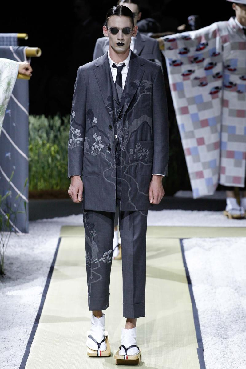 Thom Browne Menswear SS 2016 Paris (1)