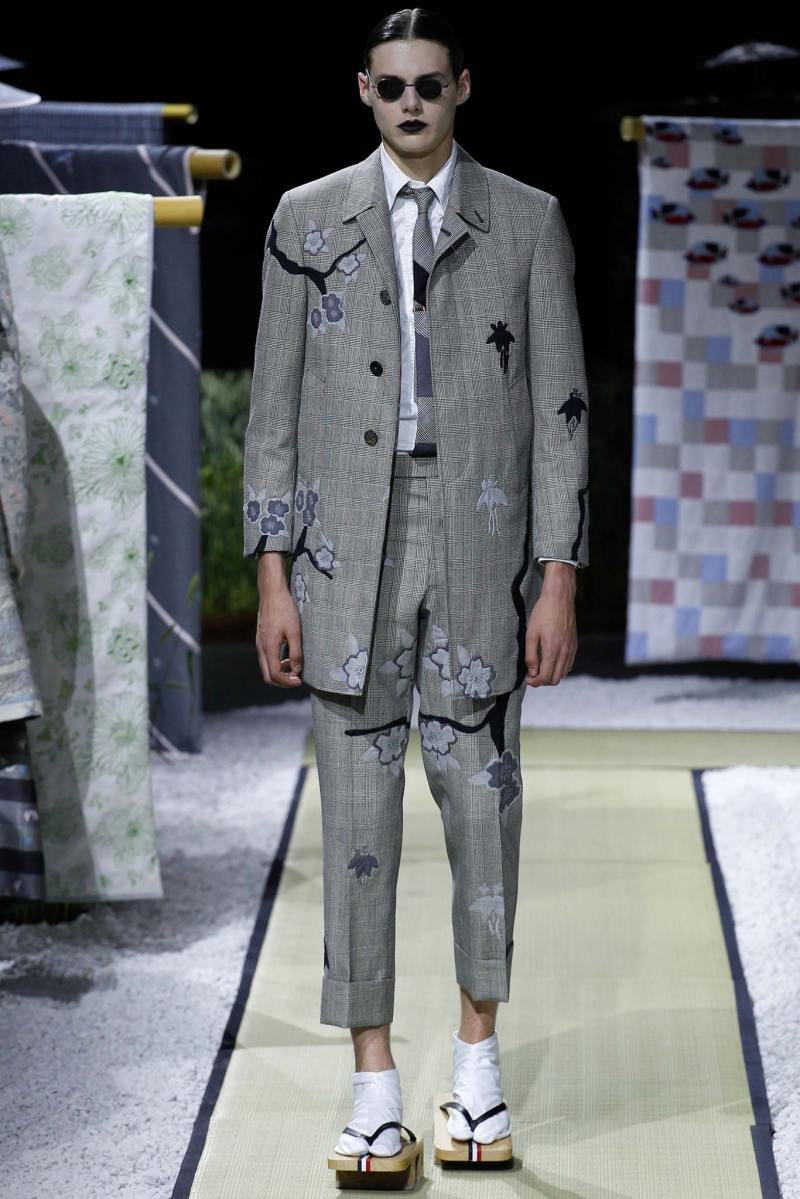 Thom Browne Menswear SS 2016 Paris (10)