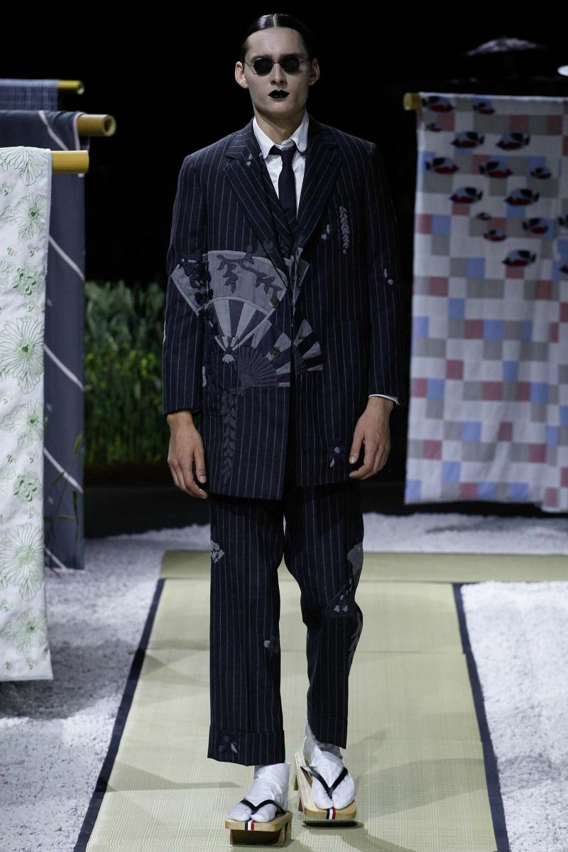 Thom Browne Menswear SS 2016 Paris (28)