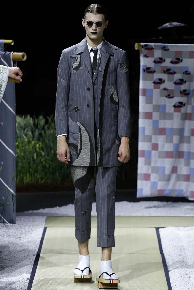 Thom Browne Menswear SS 2016 Paris (4)