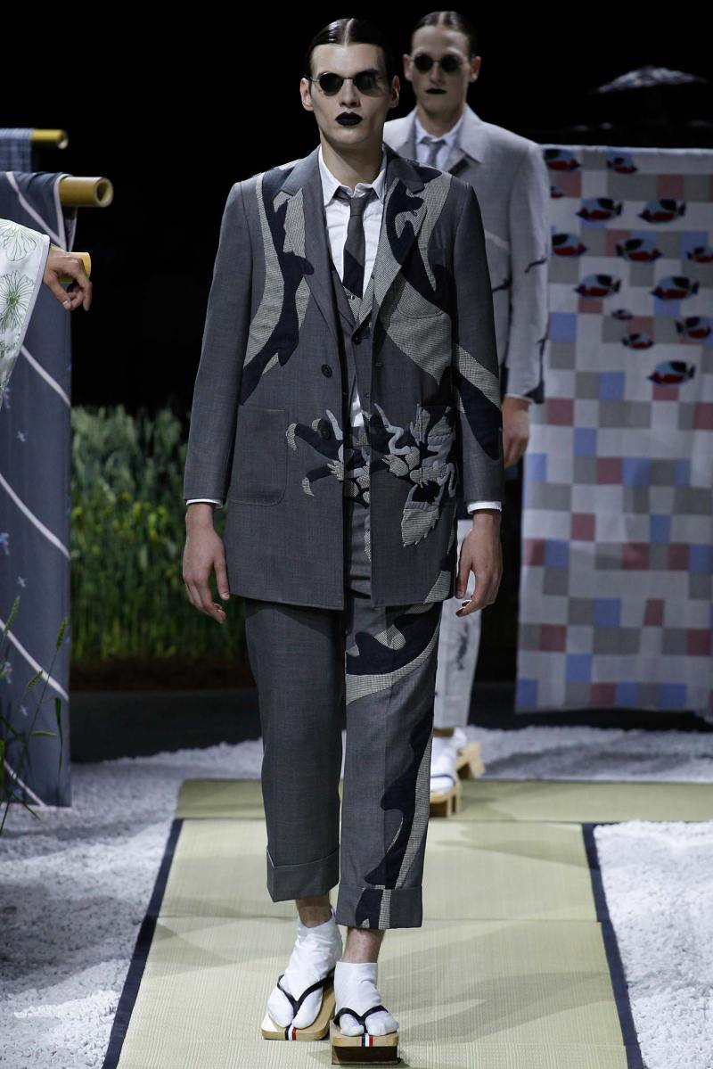 Thom Browne Menswear SS 2016 Paris (7)