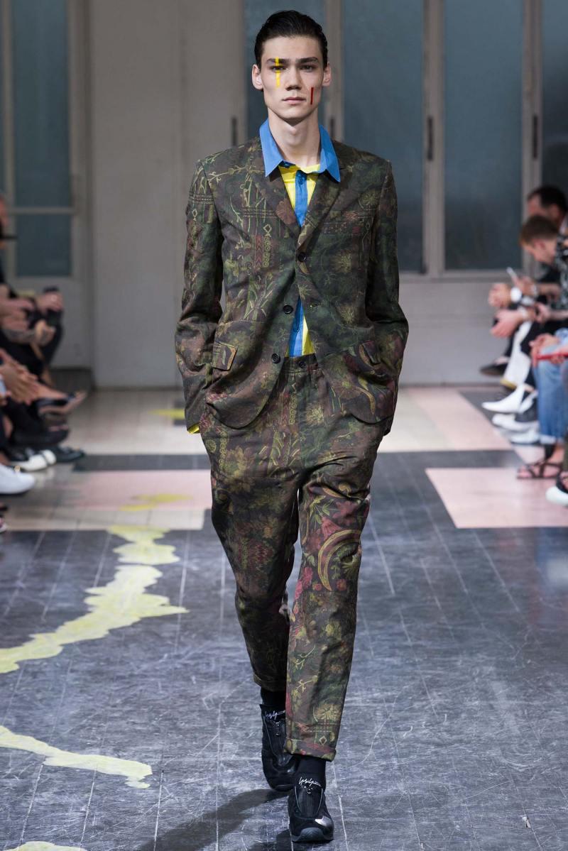 Yohji Yamamoto Menswear SS 2016 Paris (24)