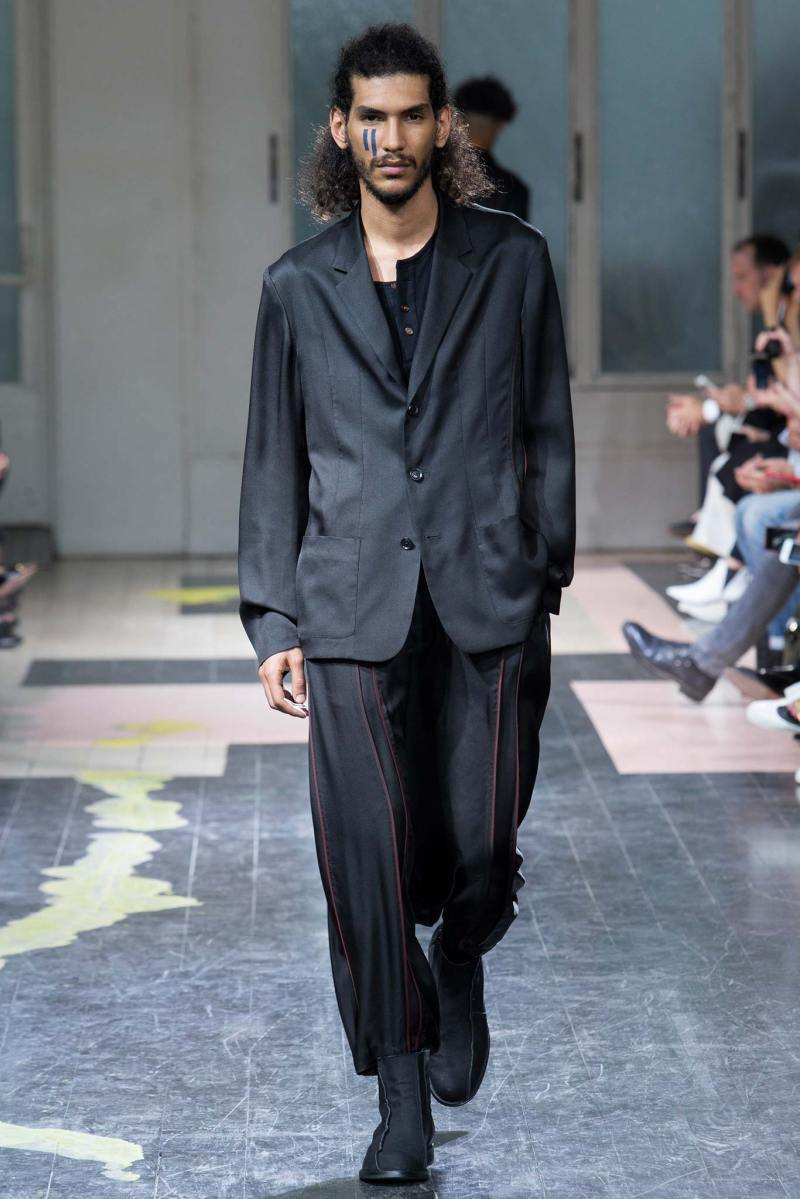 Yohji Yamamoto Menswear SS 2016 Paris (6)